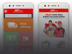 Mudahkan Pengiriman dan Pelacakan Paket, J&T Express Upgrade Aplikasi Ponsel