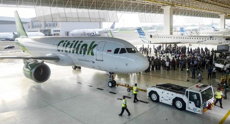 Citilink Peroleh Peringkat Pertama Keselamatan Penerbangan