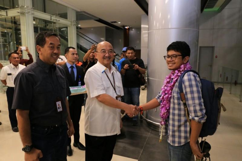 Kereta Bandara Internasional Soekarno-Hatta Resmi Mulai Beroperasi