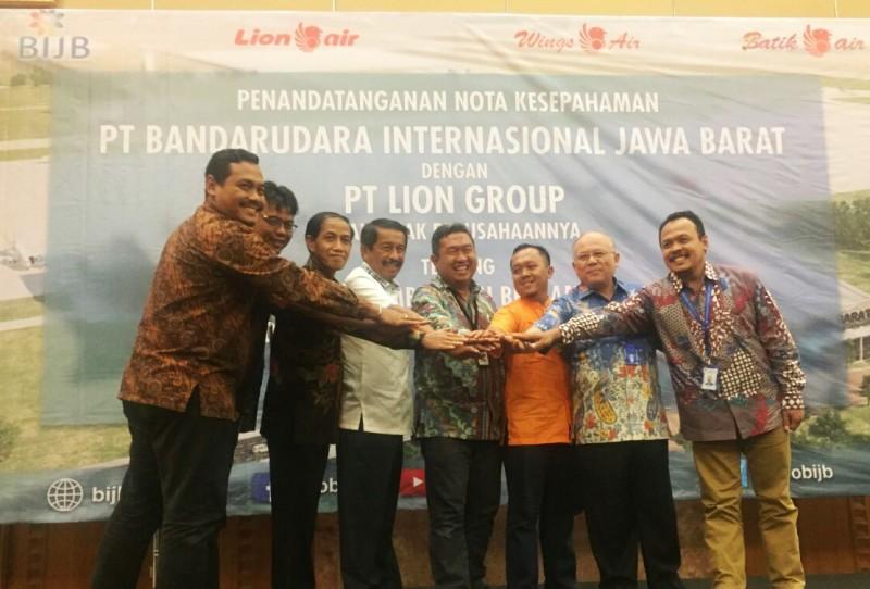 Lion Air Group  Beroperasi di Bandara Internasional Jawa Barat